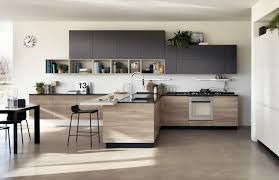 cuisine interieur design cuisine et bois un espace moderne et intrigant