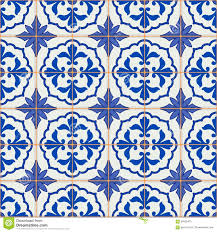 gorgeous seamless patchwork pattern from blue and white