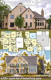 plan 40448db european elegance on multi levels architectural