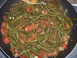 cuisiner des haricots verts frais haricots verts a la tomate recettes en