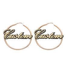 Hoop Earrings With Name Popular Hoop Earrings Names Buy Cheap Hoop Earrings Names Lots
