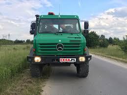 mercedes benz unimog u 4000 palfinger pk6500a hds żuraw crane