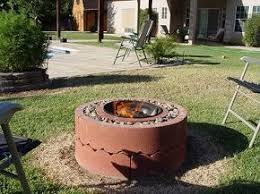 Brick Fire Pits by Best 25 Homemade Fire Pits Ideas On Pinterest Easy Fire Pit