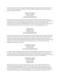 Resume Sample Flight Attendant Generic Resume Coinfetti Co