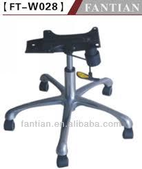 pied de chaise de bureau base de chaise de bureau en acier pieds de meubles id de produit