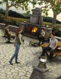 The Backyard The Backyard 3d Models And 3d Software By Daz 3d