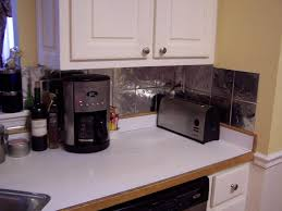 Easy Backsplash Kitchen Wonderful Easy Kitchen Backsplash Options For Decorating