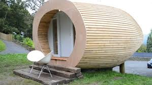 glam pod is england u0027s backyard tiny house