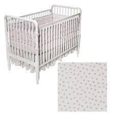 Shabby Chic Crib Bumper by Simply Shabby Chic Baby Scallop Rose Three Piece Crib Set 100