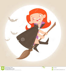 halloween little witch cartoon character stock photo image 34136820