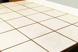 how to install ceramic tile vinyl flooring diy projects