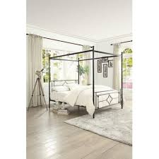 Canopy Bed Frames Gracie Oaks Woodson Canopy Bed Reviews Wayfair