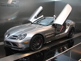 mercedes benz slr mclaren 722 roadster at toronto auto show 2001
