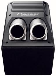pioneer photo box pioneer ts wx206a active bass box the bass bin