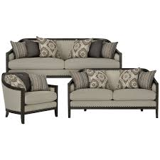 Fabric Living Room Furniture City Furniture Colburn Taupe Fabric Living Room