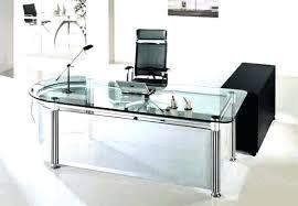 Glass Modern Desk Glass Modern Desk Netup Me