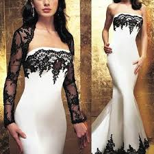 2016 zuhair murad mermaid dresses evening wear strapless black