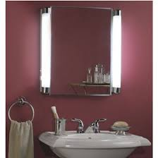 Bathroom Awesome Install A Mirrored Medicine Cabinet And Vanity - Brilliant bathroom vanity light with outlet residence