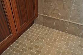 splashy basket weave tile in spaces traditional