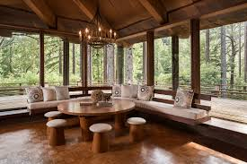 Cozy Breakfast Nook Frank Lloyd Wright U0027s Apprentice Built This 2 8m Mill Valley Home