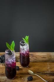 blackberry mint u0026 cucumber gin spritzer u2014 the broken bread