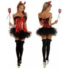 Halloween Costume Devil 4pc Silver Angel Corset Costume Dc1902 89 00 Clubwear Pole