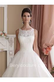 sleeveless wedding dress gown sleeveless vintage lace glitter tulle wedding dress