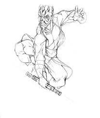 darth maul returns ink by