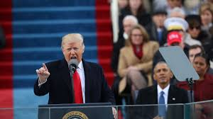 Trump Home Address by Donald Trump Is Sworn In As President Capping His Swift Ascent