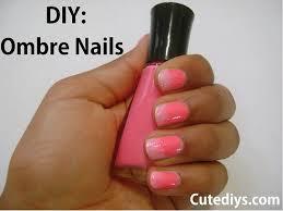 cutediys how to do ombre nails