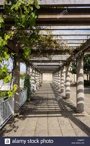 pergola over walkway in winter gardens weston super mare