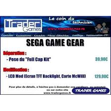 game gear backlight mod buy game gear backlight tft screen mod accessory 68043 trader games