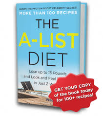 recipes the a list diet book