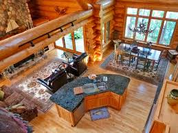 stunning design ideas open floor plan log home 12 plans for