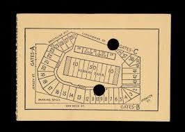 Fenway Park Seating Map Lot Detail 1945 Green Bay Packers Vs Boston Yanks At Fenway