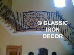 Wrought Iron Stair by Interior Rails And Stair Railing Classic Iron Decor Inc