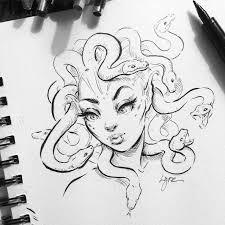 25 medusa drawing ideas medusa art