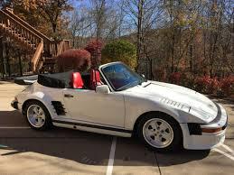1987 porsche 911 slant nose porsche 911 1987 porsche 930 factory slantnose turbo cabriolet