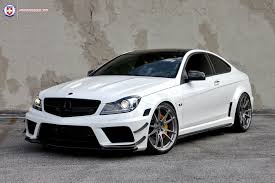 bmw amg series mercedes tuning wheels boutique hre tweaked c63 amg black