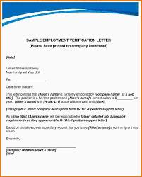 Certification Letter Template Sle Verification Of Employment Letter Employment Letter Template