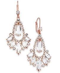 teardrop chandelier earrings kate spade new york 14k gold plated teardrop
