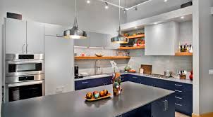 navy blue and grey kitchen cabinets blue grey contemporary kitchen cabinets