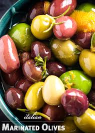 italian olives italian marinated olives with citrus and herbs just a bit
