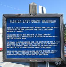 Florida East Coast Map by Melbourne Florida