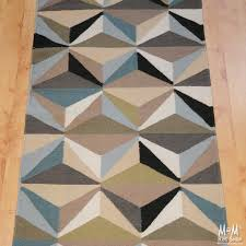 geometric runner rug roselawnlutheran