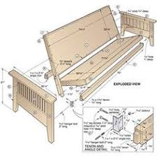 Wood Futon Bunk Bed Plans by