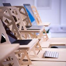 Laptop Cradle Desk by Standing Desk Converters And Laptop Stands Now In Stock Helmm