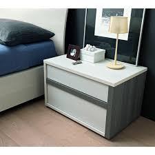 slim modern italian nightstand