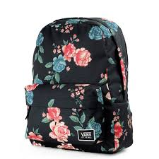 bloom backpack vans ream classic backpack winter bloom va34g7qiw at
