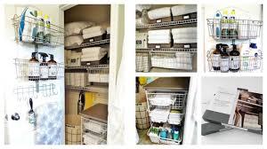 Closet Organizers Ideas by Linen Closet Organization Ideas Dollar Tree Target Marshalls